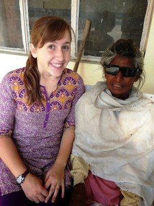 Jagirkaur and Jessica Wold, India)