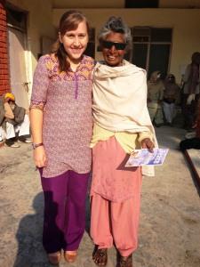 Jagirkaur & Jessica Wold, India)