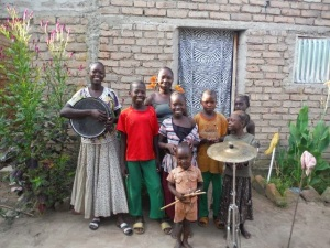 Mikayla's Chadian Family