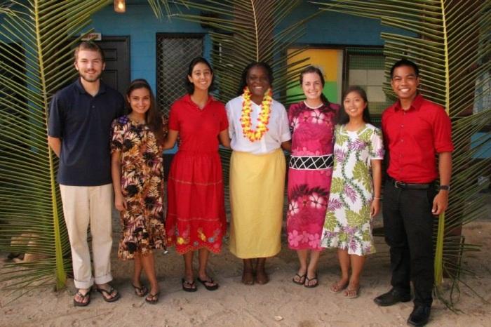 Ebeye Student Missionaries