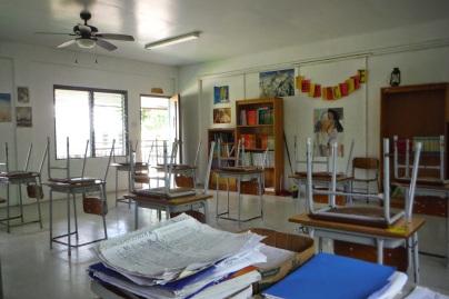 Kosrae classroom