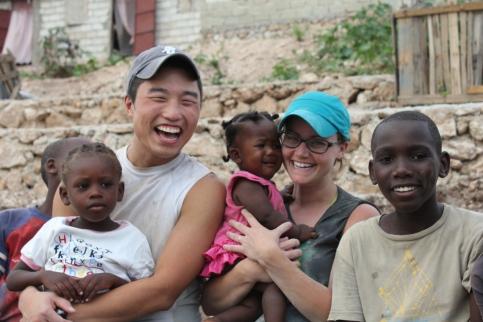Justin & Shari Lyn Kim, Haiti
