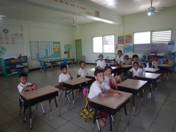 Yap 1st graders