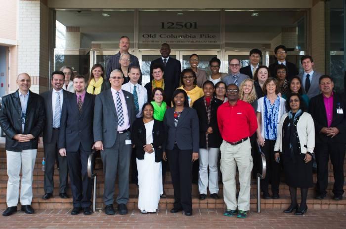 Adventist Volunteer Services Staff from around the world