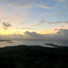 View from the highest point in Yap